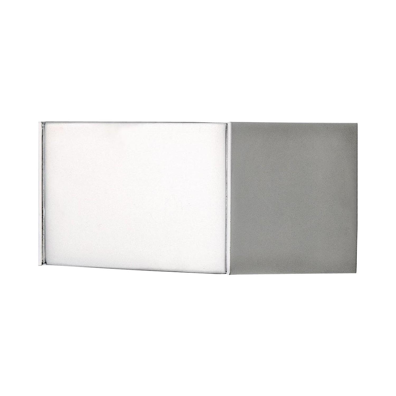 Wandleuchte T-LED 105 ● Aluminium-Druckguss ● Chrom- Milan Iluminacion