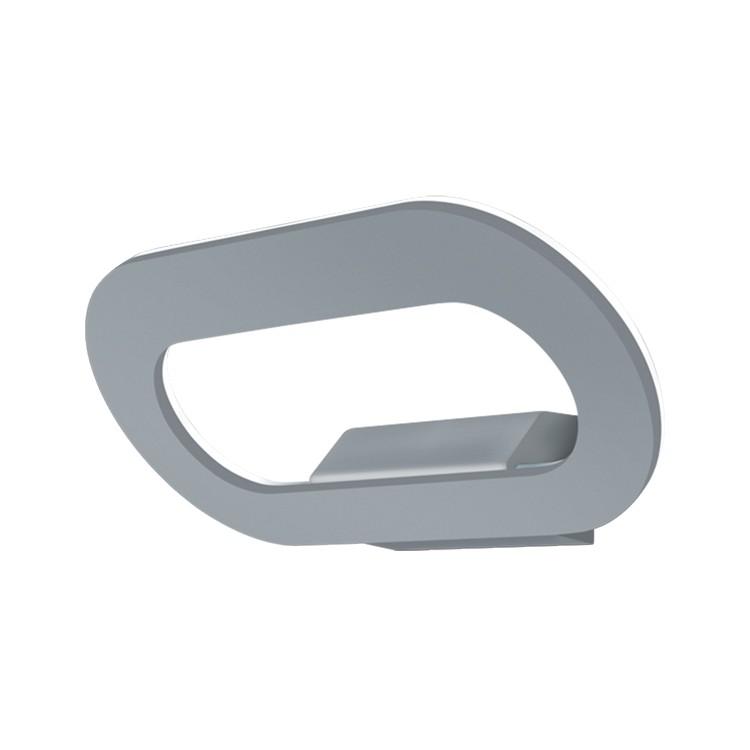 LED-Außenleuchte Tori 44 Aluminium ● Silber & Grau- Helestra A+