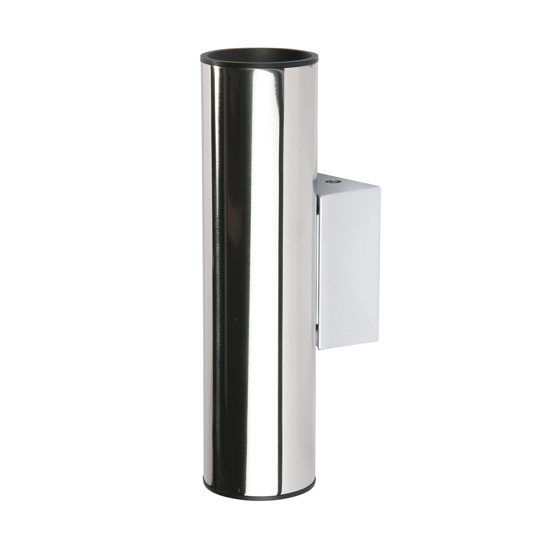 Wandleuchte Tub LED ● Edelstahl ● Silber- Milan Iluminacion
