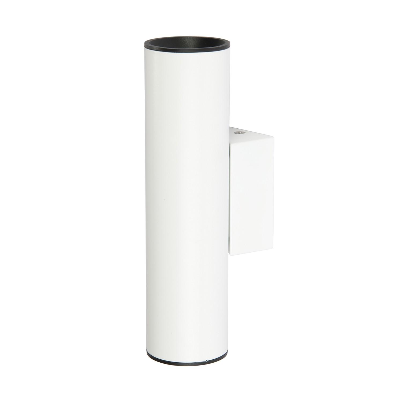 Wandleuchte Tub LED ● Edelstahl ● Weiß- Milan Iluminacion