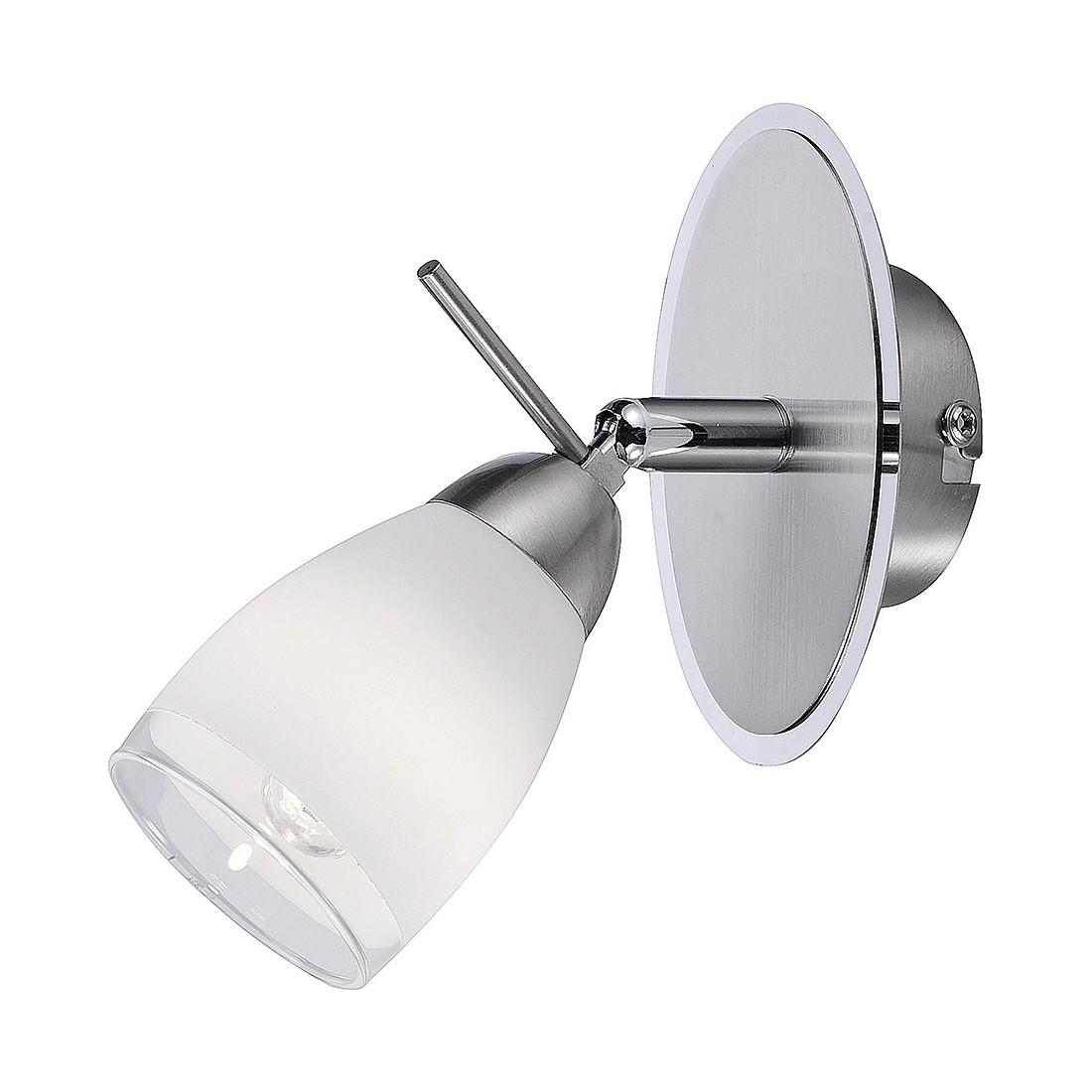 Wandleuchte Vino by Leuchten Direkt ● Eisen/Stahl ● Silber ● 1-flammig- Leuchten Direkt A++