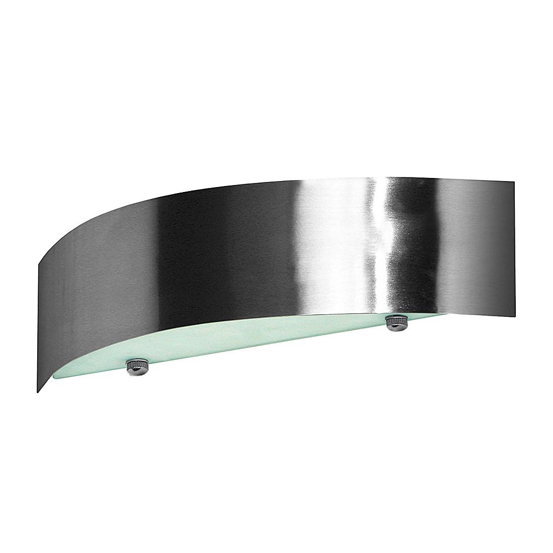 Wandleuchte Wave – Mit Glas – Aluminium Nickel-Satin, s`luce günstig