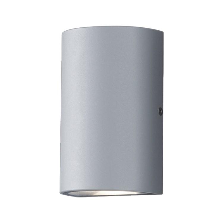 LED-Außenleuchte Way Aluminium ● Silber & Grau- Helestra A+