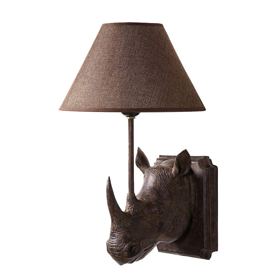 wandleuchte wl rhino kunststoff stoff 1 flammig kare design a g nstig online kaufen. Black Bedroom Furniture Sets. Home Design Ideas