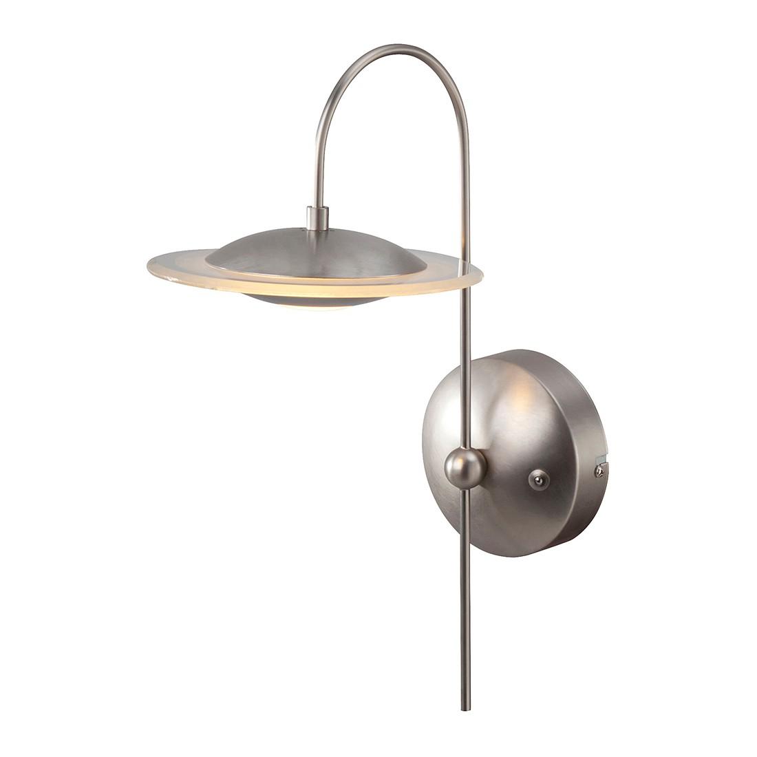 LED-Wandleuchte Zelena 1-flammig ● Nickel matt- Steinhauer A+