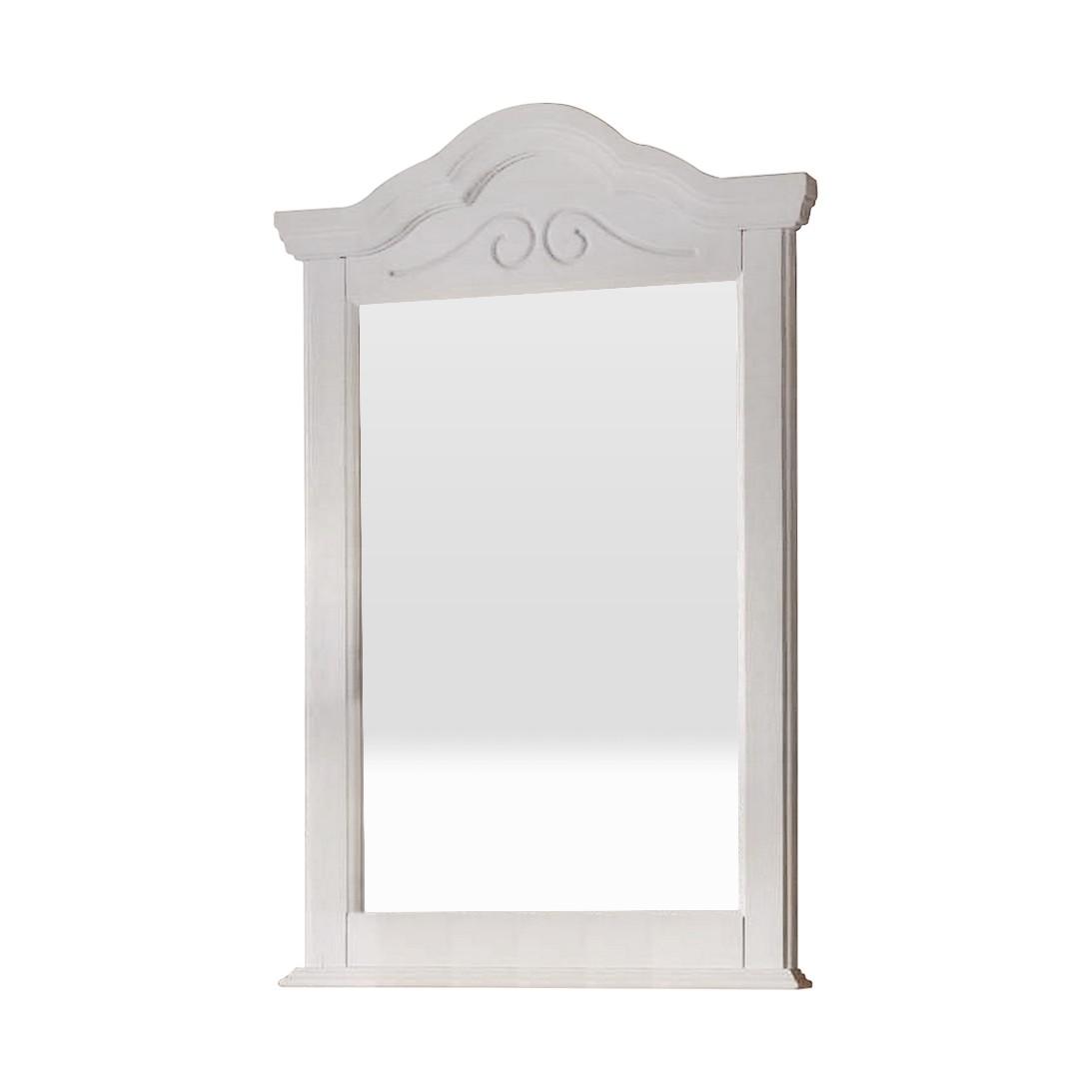 Wandspiegel Andiamo – Pinie Teilmassiv – Weiß, Nature Dream bestellen