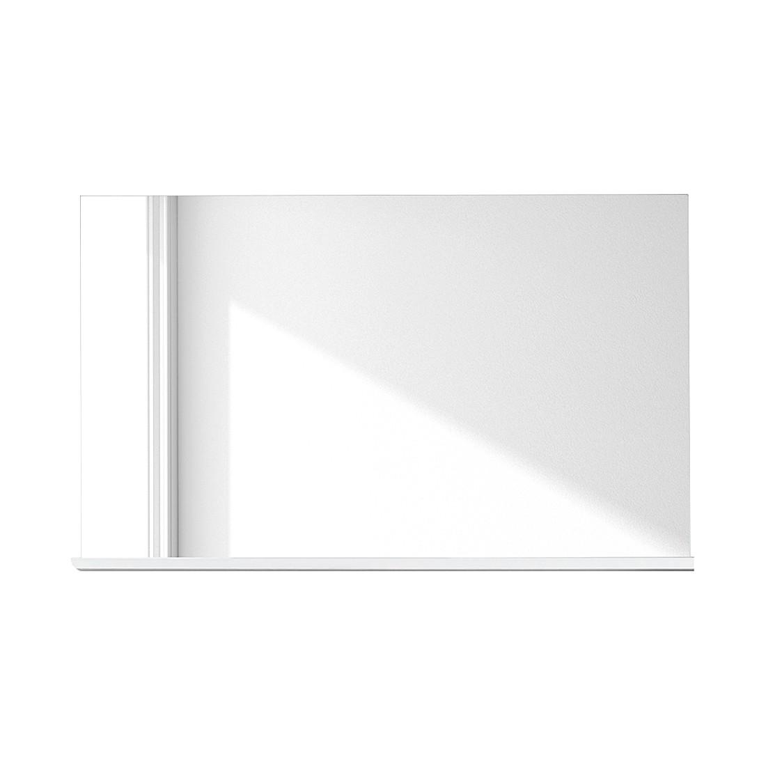 Wandspiegel Baku – Hochglanz Weiß, Modoform günstig online kaufen