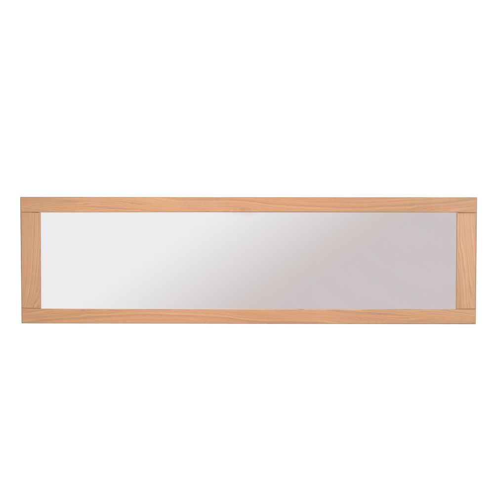 Wandspiegel Basilica – Eiche Furnier – Spiegelglas – Modell 2, Young Furn günstig online kaufen