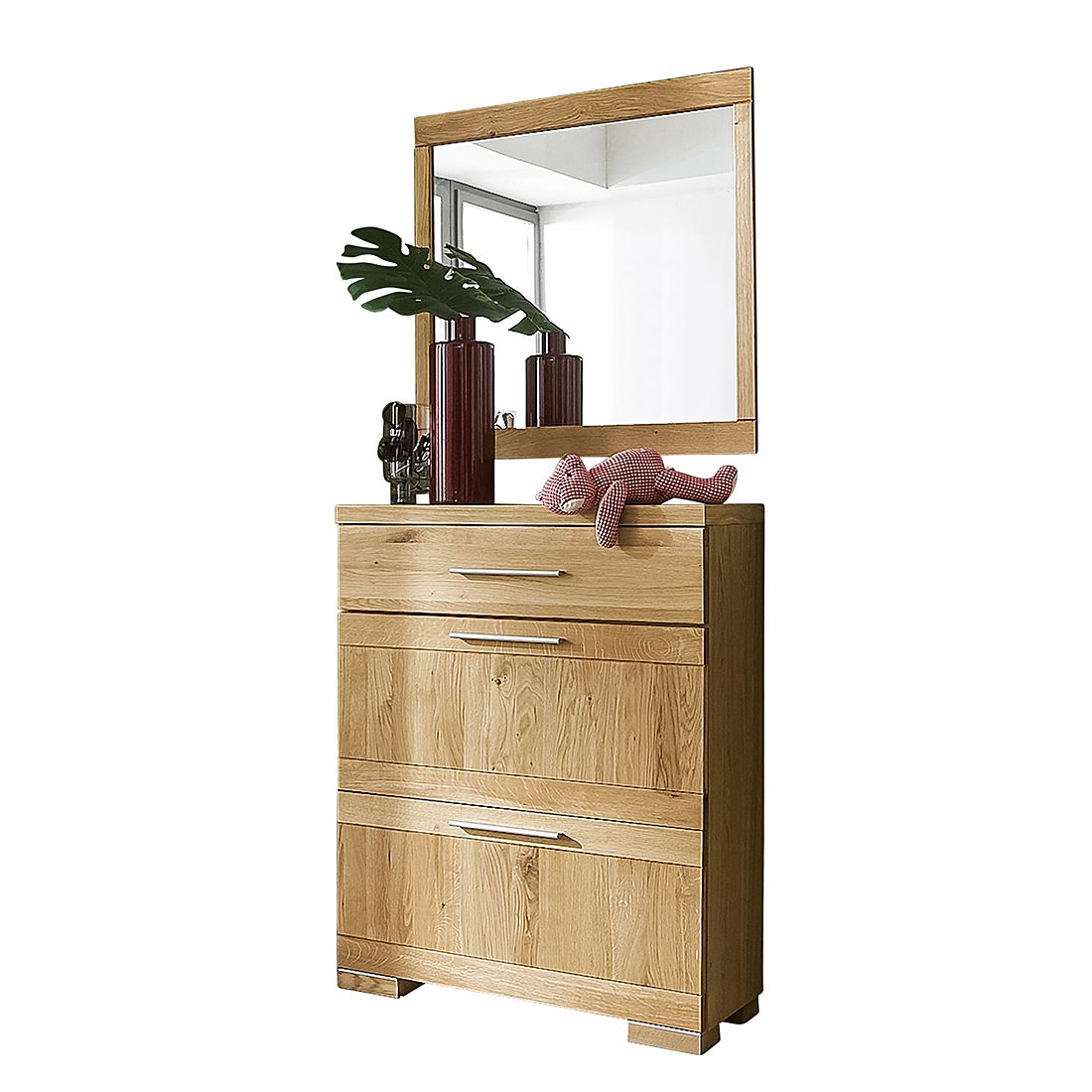 wandspiegel mit holzrahmen preisvergleiche erfahrungsberichte und kauf bei nextag. Black Bedroom Furniture Sets. Home Design Ideas