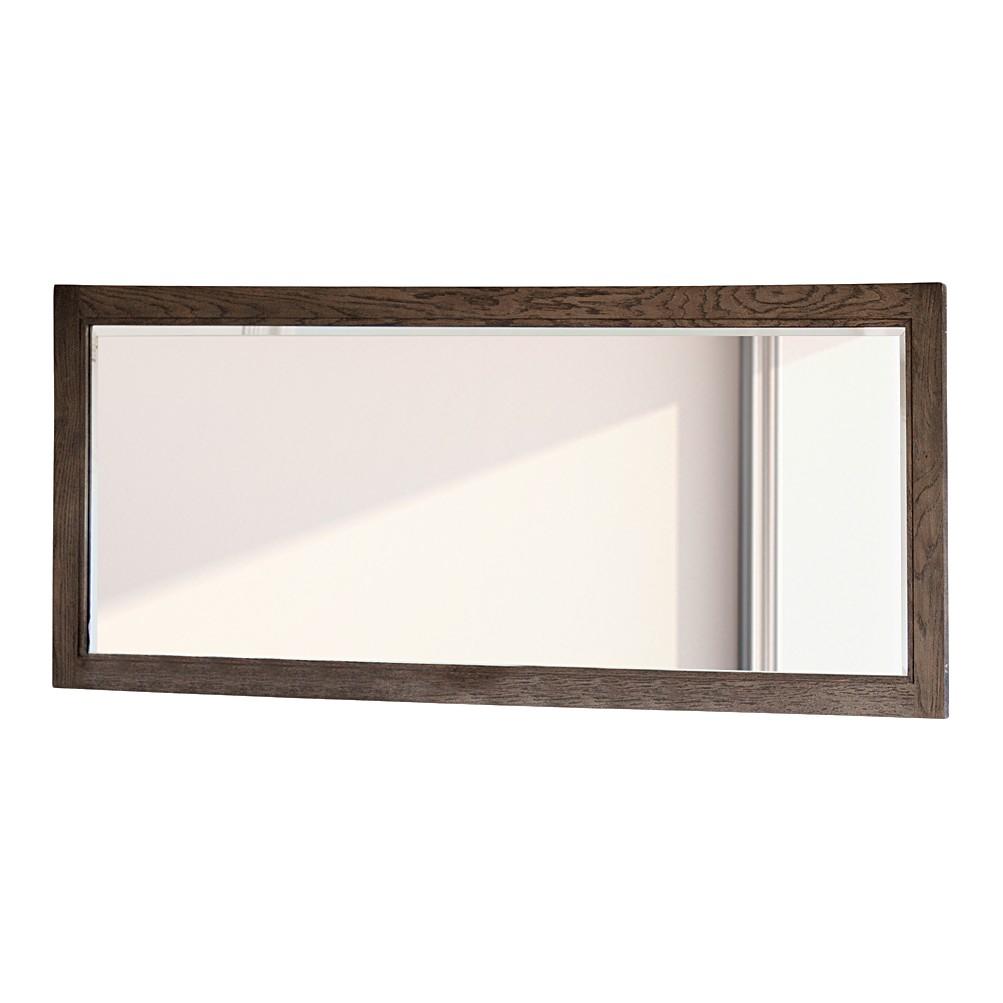 Wandspiegel Franklin – Eiche Massivholz/Spiegelglas – Rauchfarben, Maison Belfort online kaufen