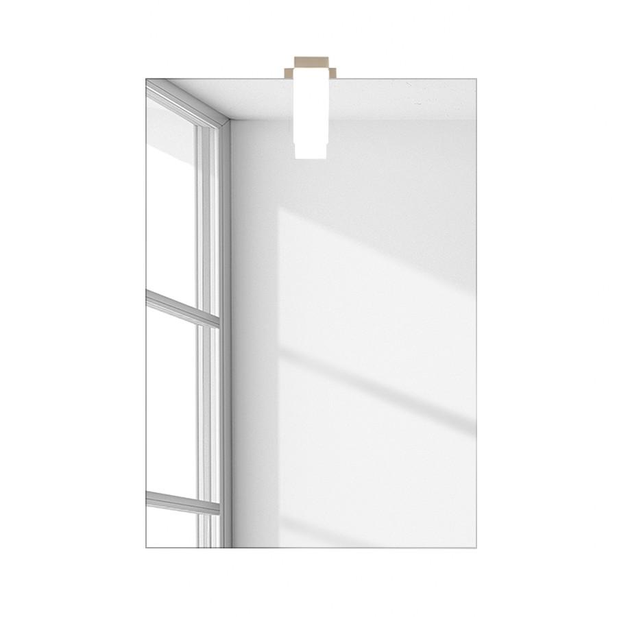 Wandspiegel Atago – Kristallspiegelglas – Rechteckig, Tollhaus kaufen