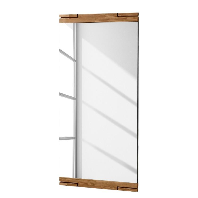 wandspiegel mantua eiche massivholz spiegelglas natur lackiert perfectfurn g nstig bestellen. Black Bedroom Furniture Sets. Home Design Ideas