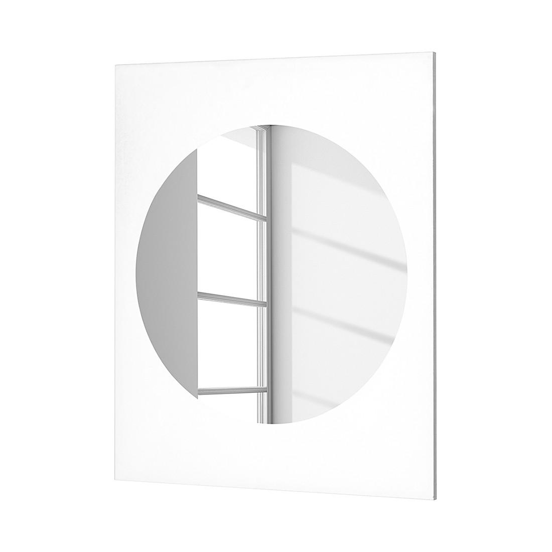 Wandspiegel Oswego – Weiß, Giessbach günstig kaufen