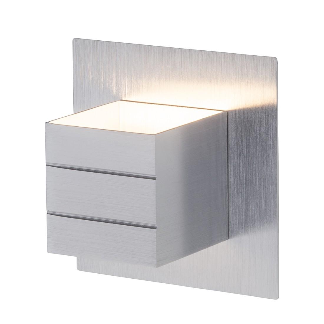 Wandspot Fixed ● Metall ● Silber ● 1-flammig- Brilliant Living A+