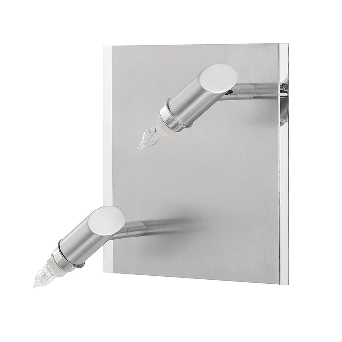 EEK C, Wandspot M6 Licht / Spot16 (ohne Glas) – Nickel/Metall – 2-flammig, Fischer Leuchten online bestellen