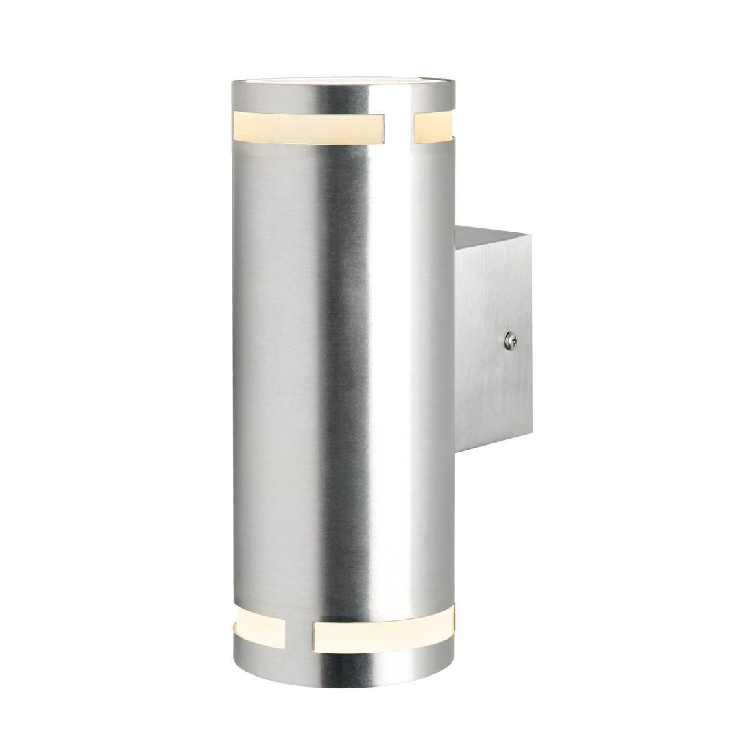 EEK A++, Wandstrahler 2-seitig Can Maxi II – Aluminium, Nordlux günstig online kaufen