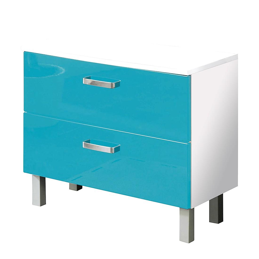 Prix des meuble sous lavabo 12 - Vasque bleu turquoise ...