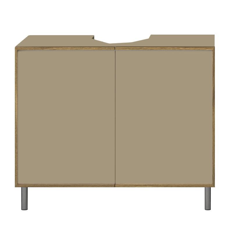 reinhard waschbeckenunterschrank aura nougat reinhard. Black Bedroom Furniture Sets. Home Design Ideas