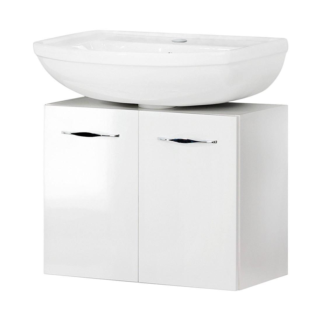 Waschbeckenunterschrank Sceno – Hochglanz Weiß, Fackelmann günstig kaufen
