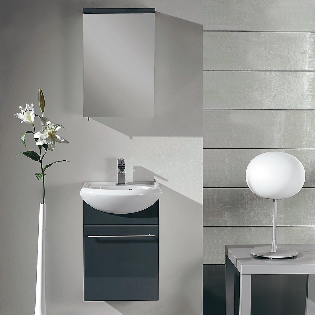 Waschplatz Finny – Anthrazit/Weiß, Aqua Suite günstig