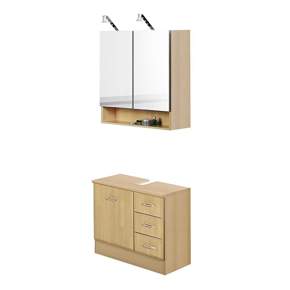 Mobile bagno sottolavello 2 ante cm 80x35x65h prezzo e - Mobile sottolavello bagno ...