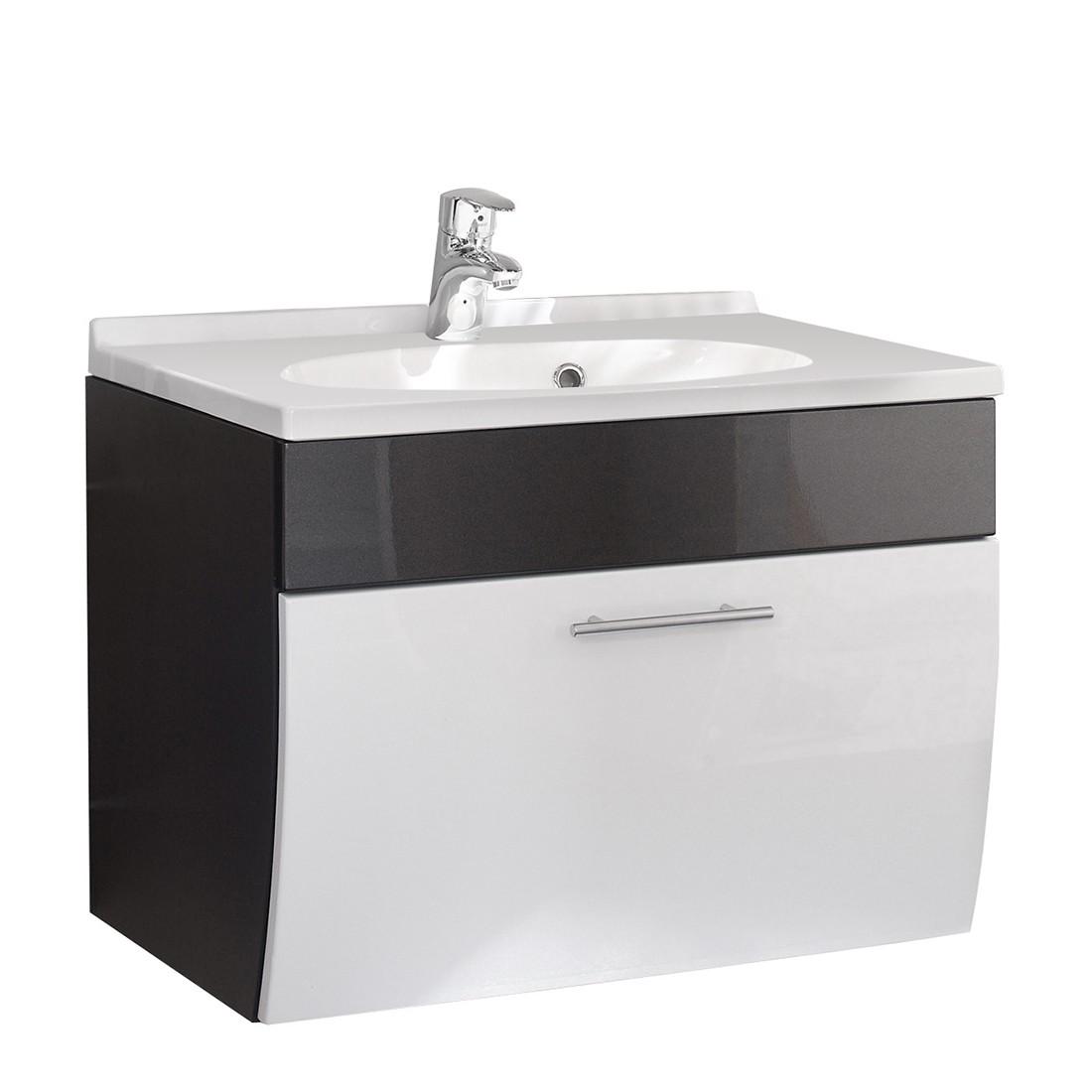 Waschplatz Tara – Anthrazit-Weiß, Aqua Suite online bestellen