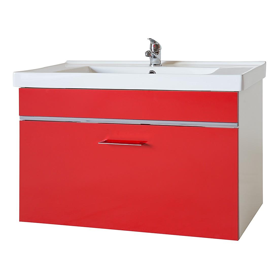 Waschtisch Amy – Rot/Weiß, Giessbach jetzt bestellen