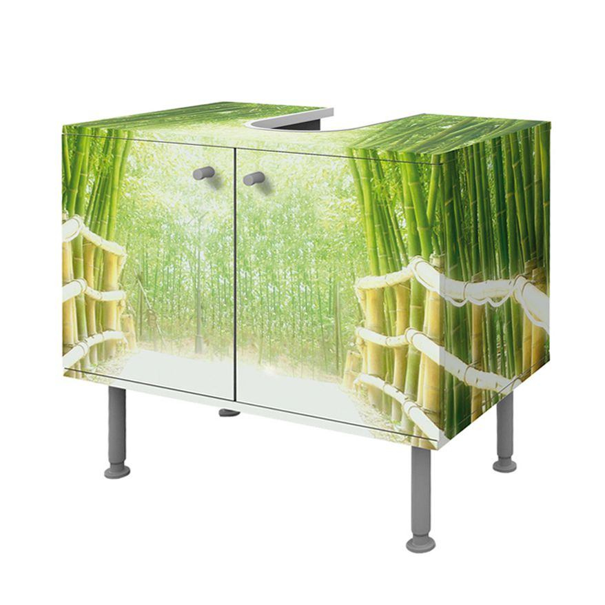 Waschtisch bamboo way - Spiegelschrank bad weiay ...