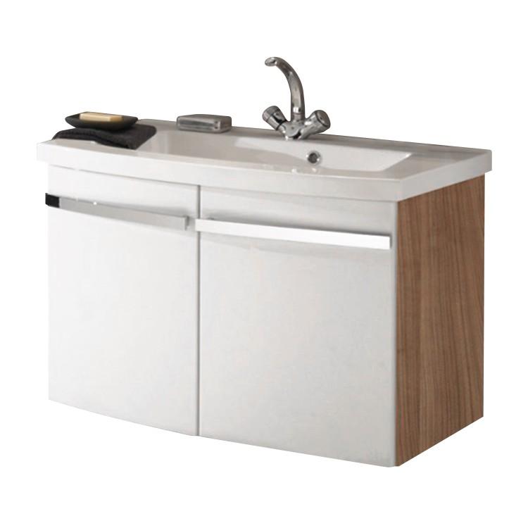 Waschtisch Bina - Noce/Weiß