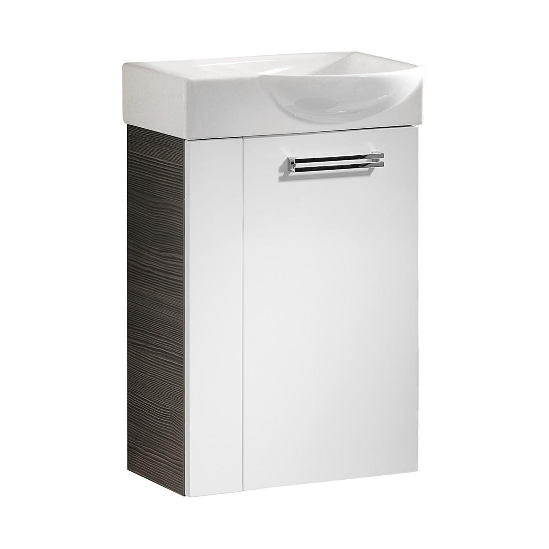 Waschtisch Como – Pinie-Anthrazit Dekor/Weiß – 45 cm – Rechts, Fackelmann online kaufen