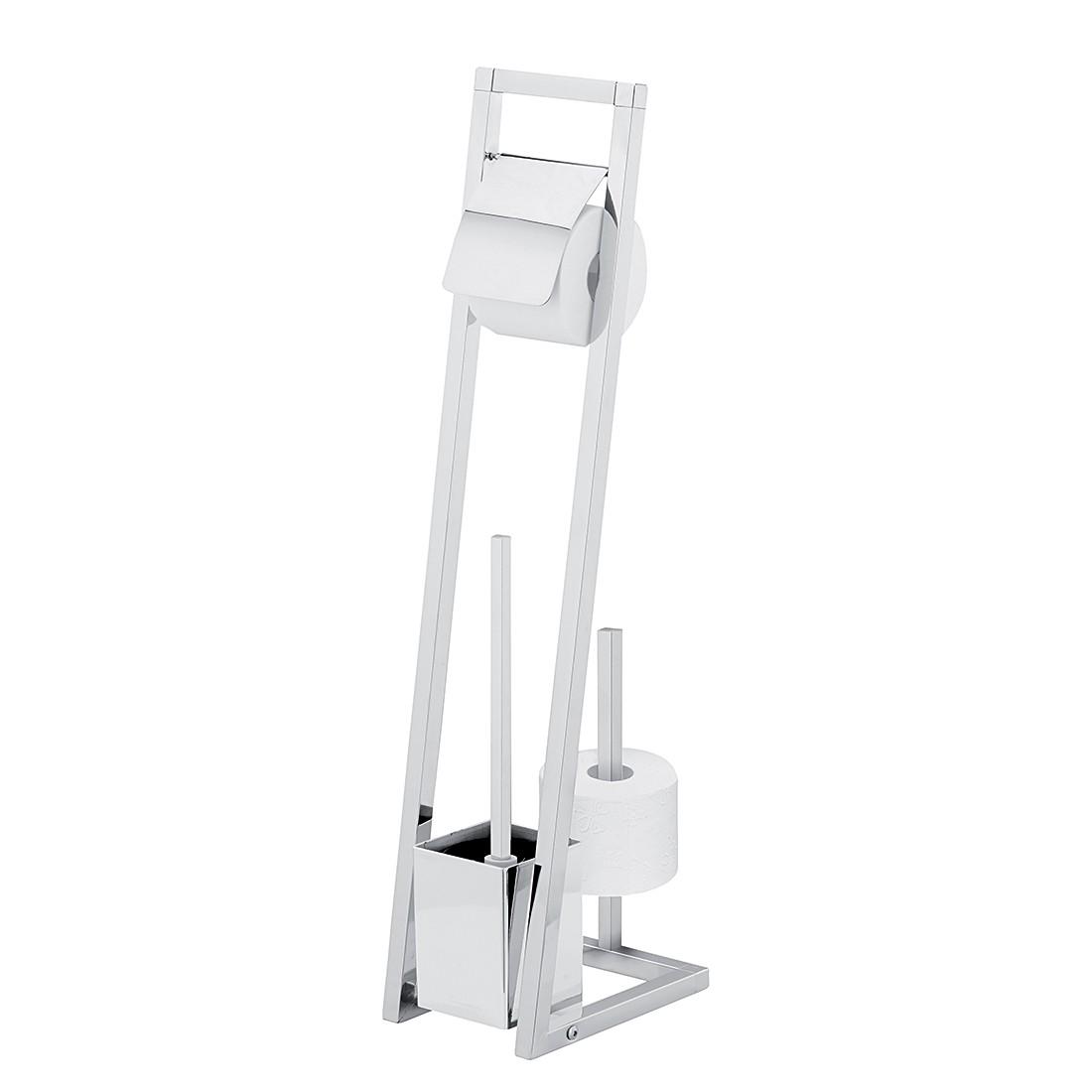 WC-Garnitur Kubus II – Chrom, Sanwood günstig bestellen