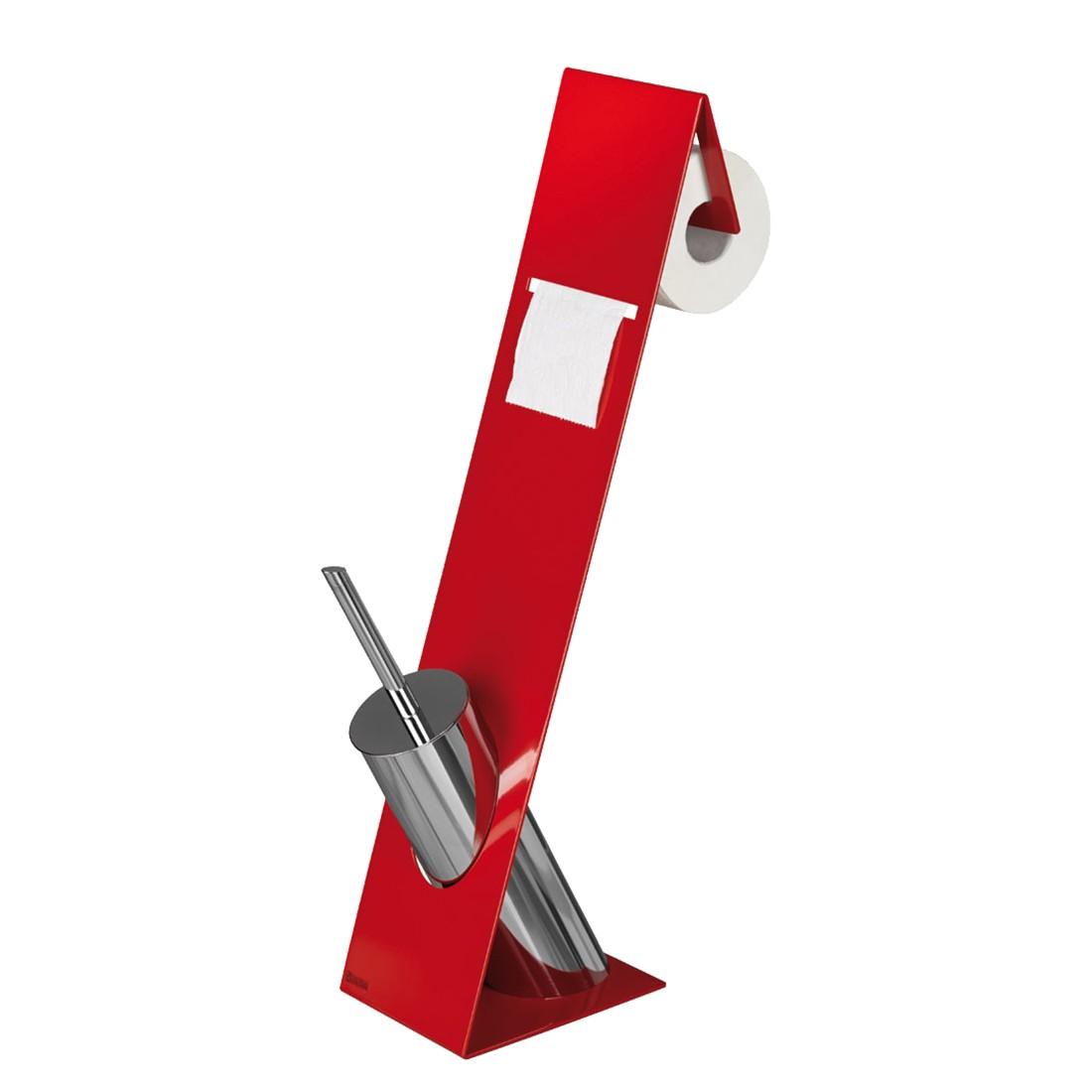 WC-Garnitur Turin – Rot, Sanwood jetzt kaufen