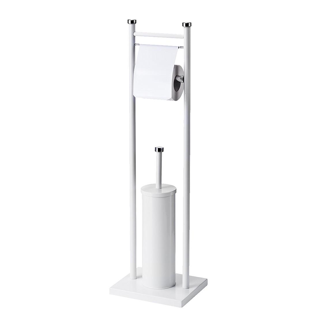 WC-Garnitur – Weiß, Metall, Zeller jetzt bestellen