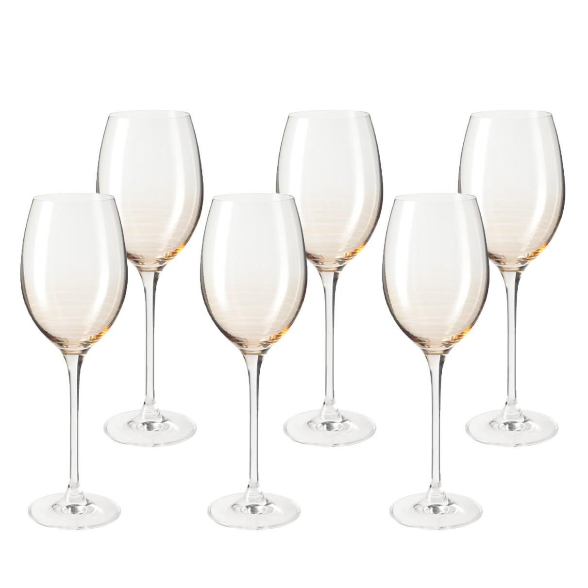 Weinglas Cheers (6er-Set) - Beige, Leonardo