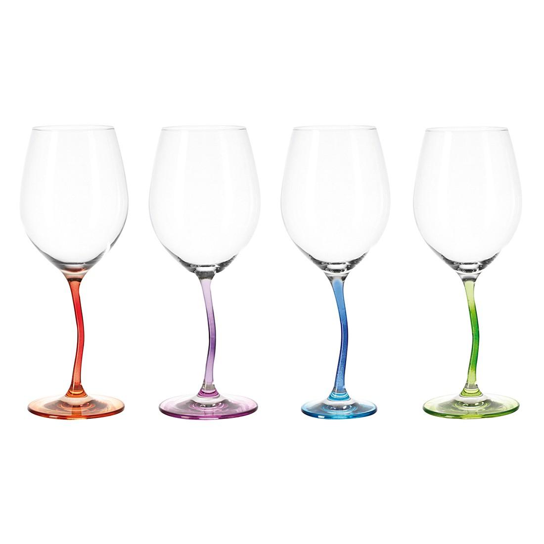 Weinglas Modella (4er-Set) – Farbig sortiert, Leonardo günstig kaufen