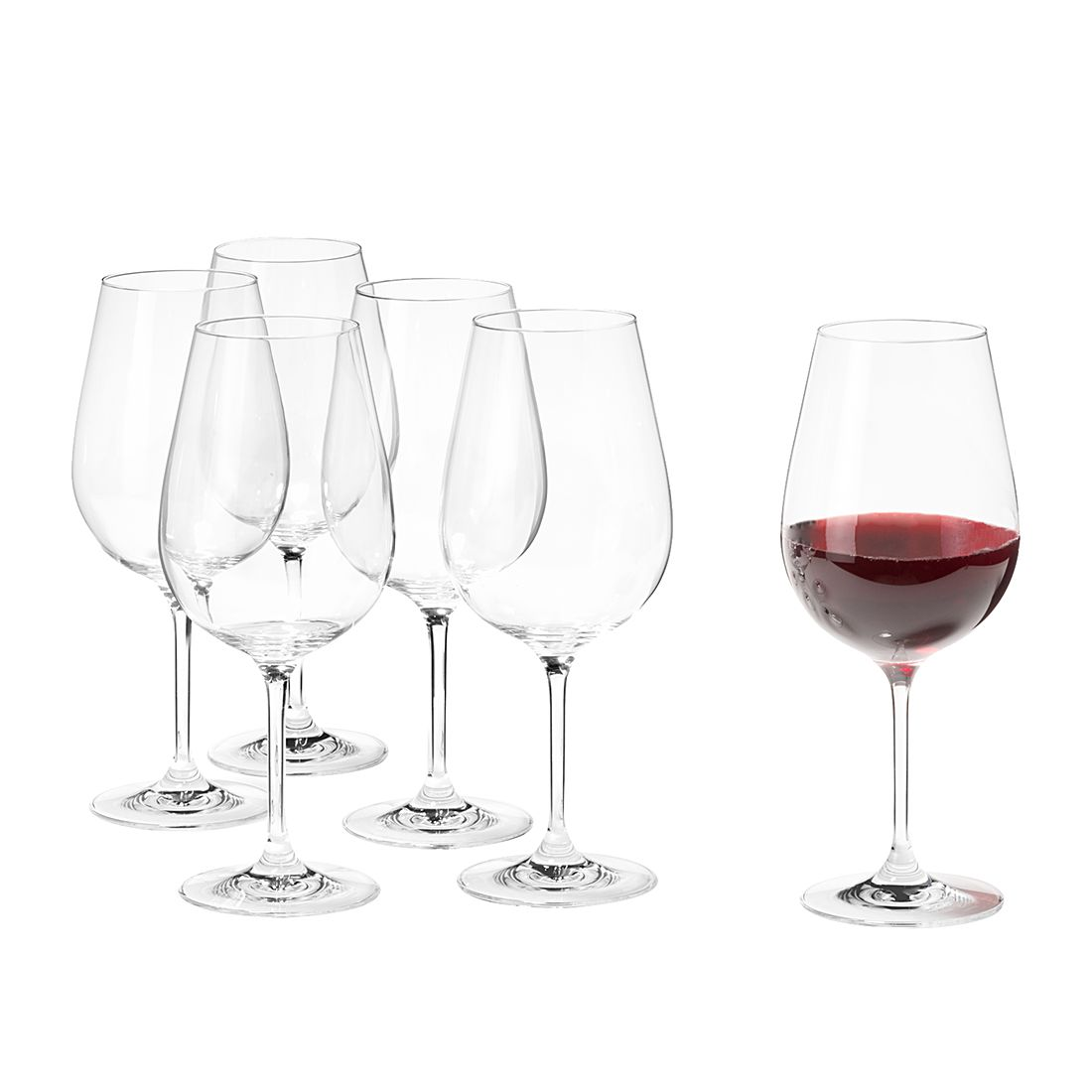 Weinglas XL Tivoli (6er-Set) - Klar, Leonardo