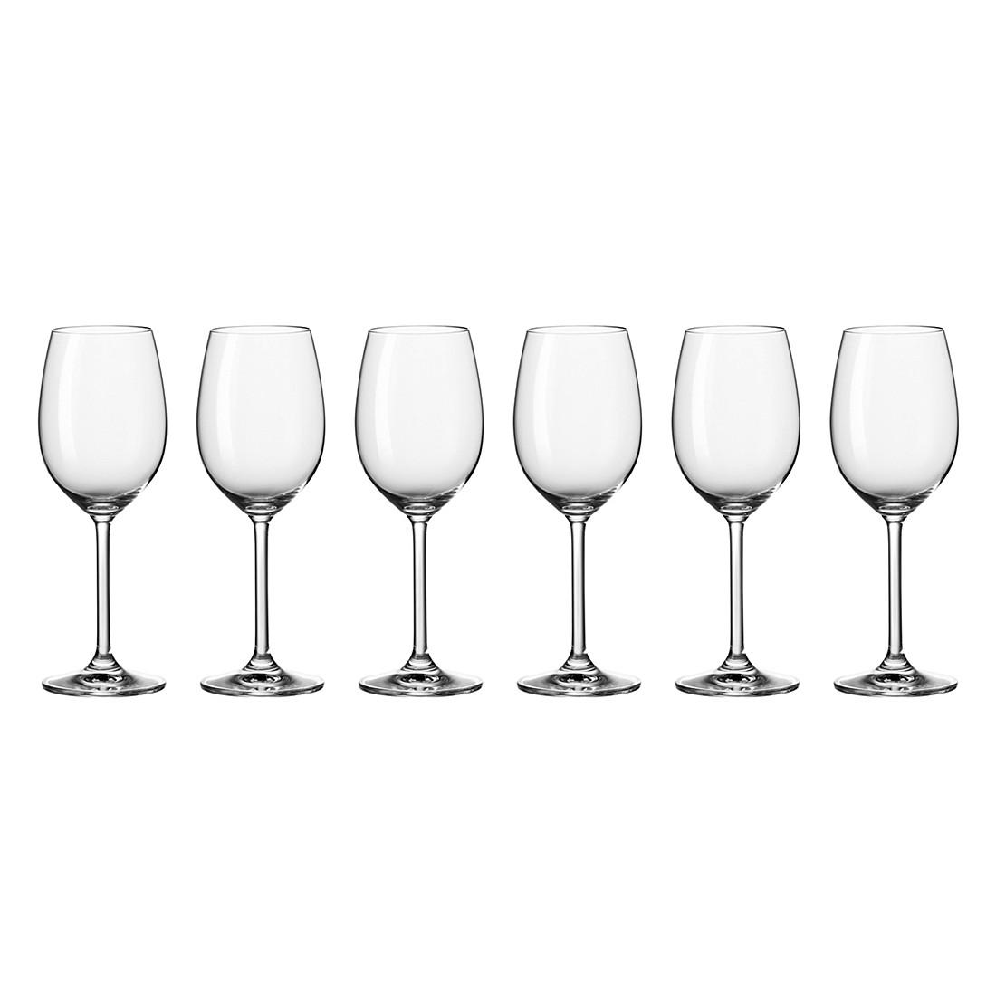 Weißweinglas Daily (6er-Set) – Klar, Leonardo günstig online kaufen