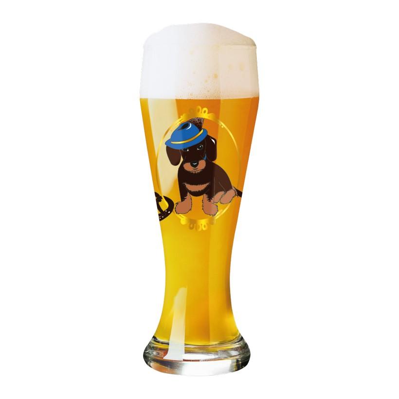 Weizenbierglas mit Bierdeckeln Weizen – 500 ml – Design Angela Schiewer – 2013 – 1020170, Ritzenhoff kaufen