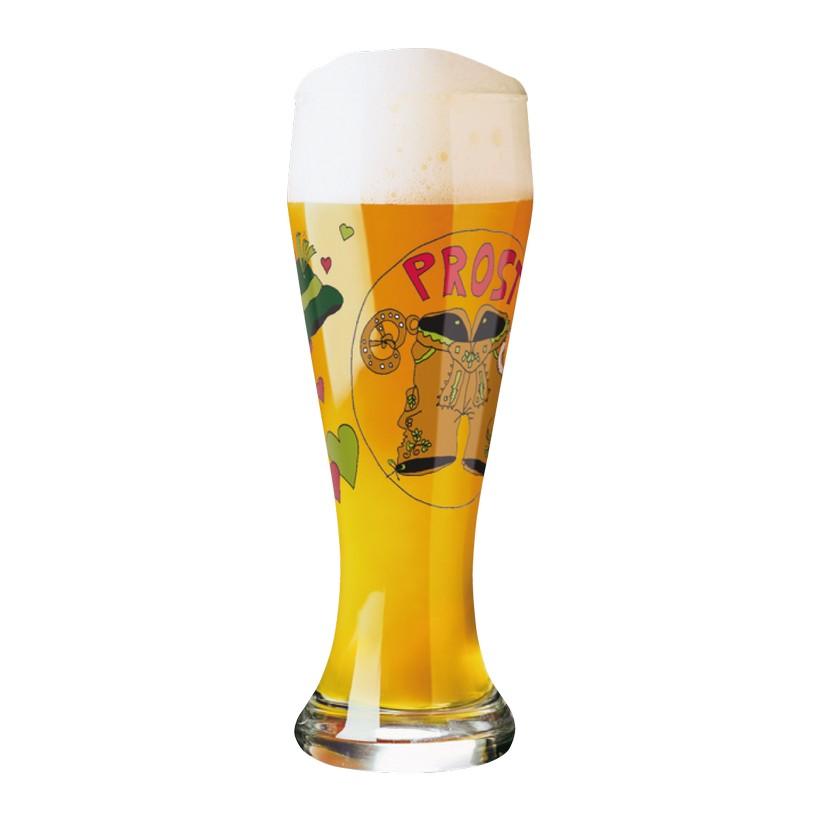 Weizenbierglas mit Bierdeckeln Weizen – 500 ml – Design Djamila Fierek – 2010 – 1020123, Ritzenhoff kaufen