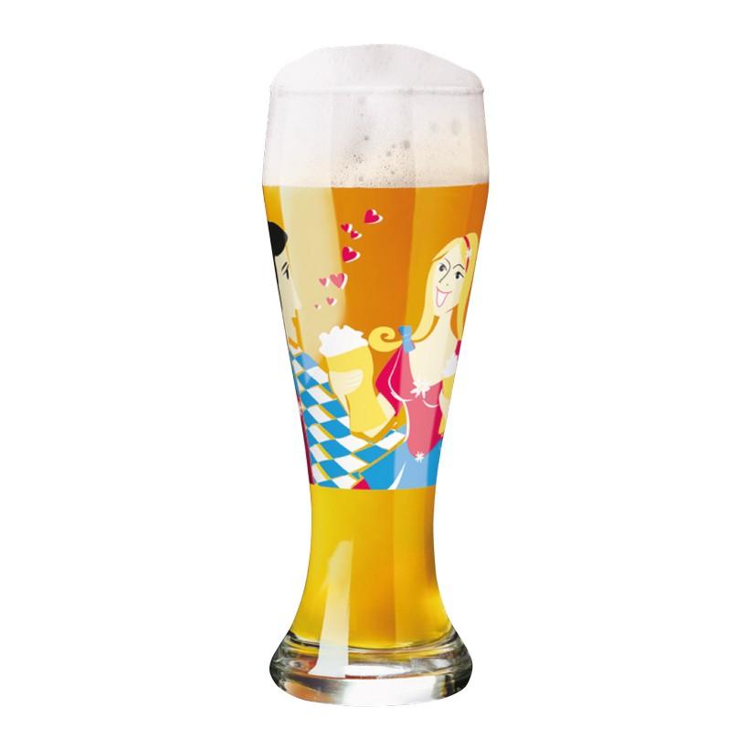 Weizenbierglas mit Bierdeckeln Weizen – 500 ml – Design Formfindung – 2013 – 1020160, Ritzenhoff jetzt bestellen