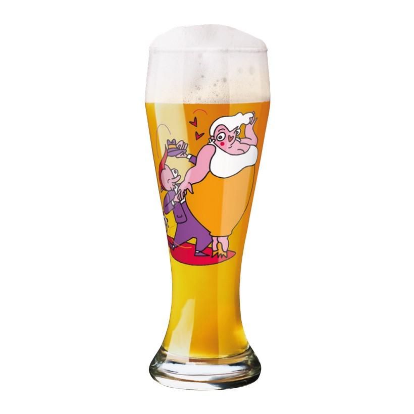Weizenbierglas mit Bierdeckeln Weizen – 500 ml – Design Marcel Bierenbroodspot – 2013 – 1020159, Ritzenhoff online kaufen