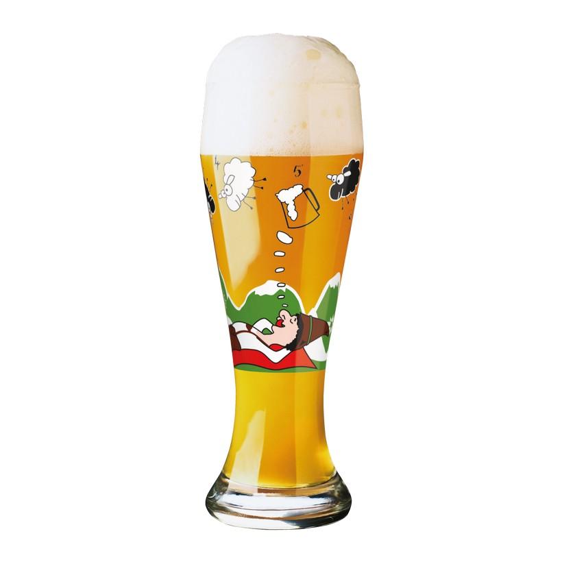 Weizenbierglas mit Bierdeckeln Weizen – 500 ml – Design Melanie Wüllner – 2012 – 1020158, Ritzenhoff bestellen