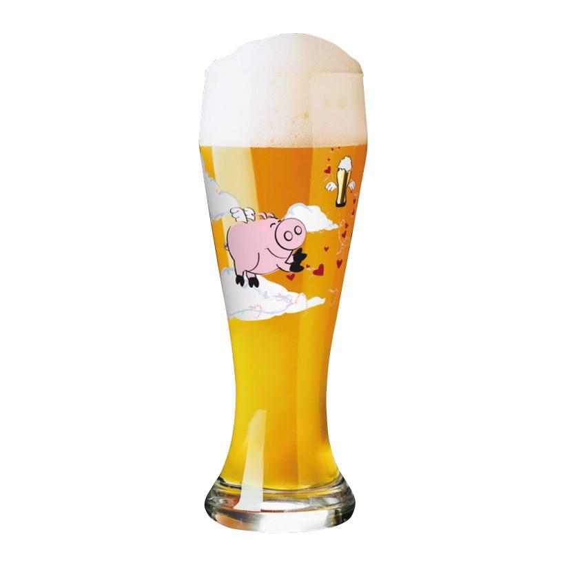 Weizenbierglas mit Bierdeckeln Weizen – 500 ml – Design Ramona Rosenkranz – 2012 – 1020150, Ritzenhoff günstig online kaufen