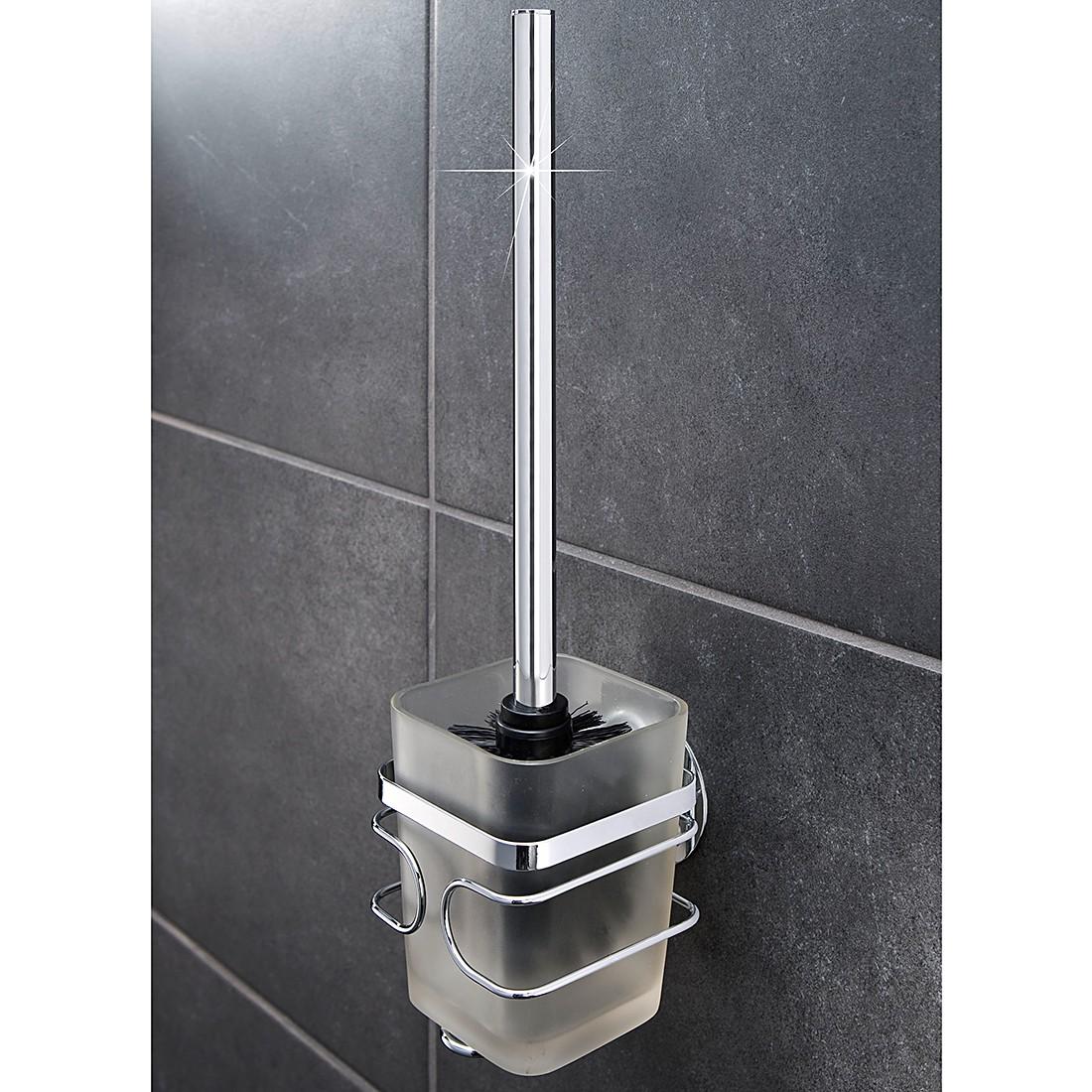 WC-Garnitur TurboFIX – Edelstahl, WENKO günstig