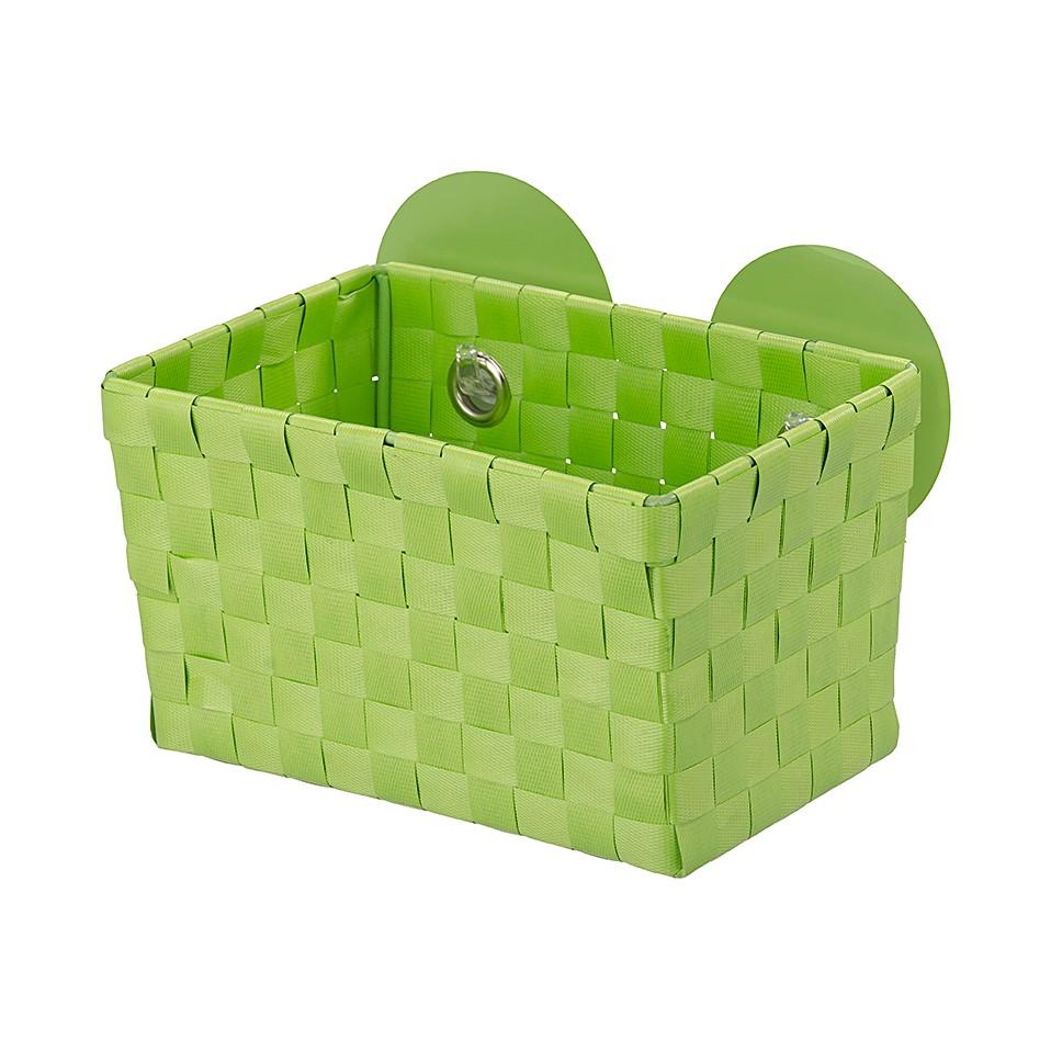 Aufbewahrungskorb Fermo Static-Loc (2er Set) – Grün, WENKO günstig