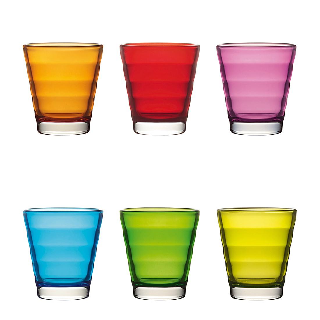 Whiskybecher Wave (6er-Set) – Farbig sortiert, Leonardo online kaufen
