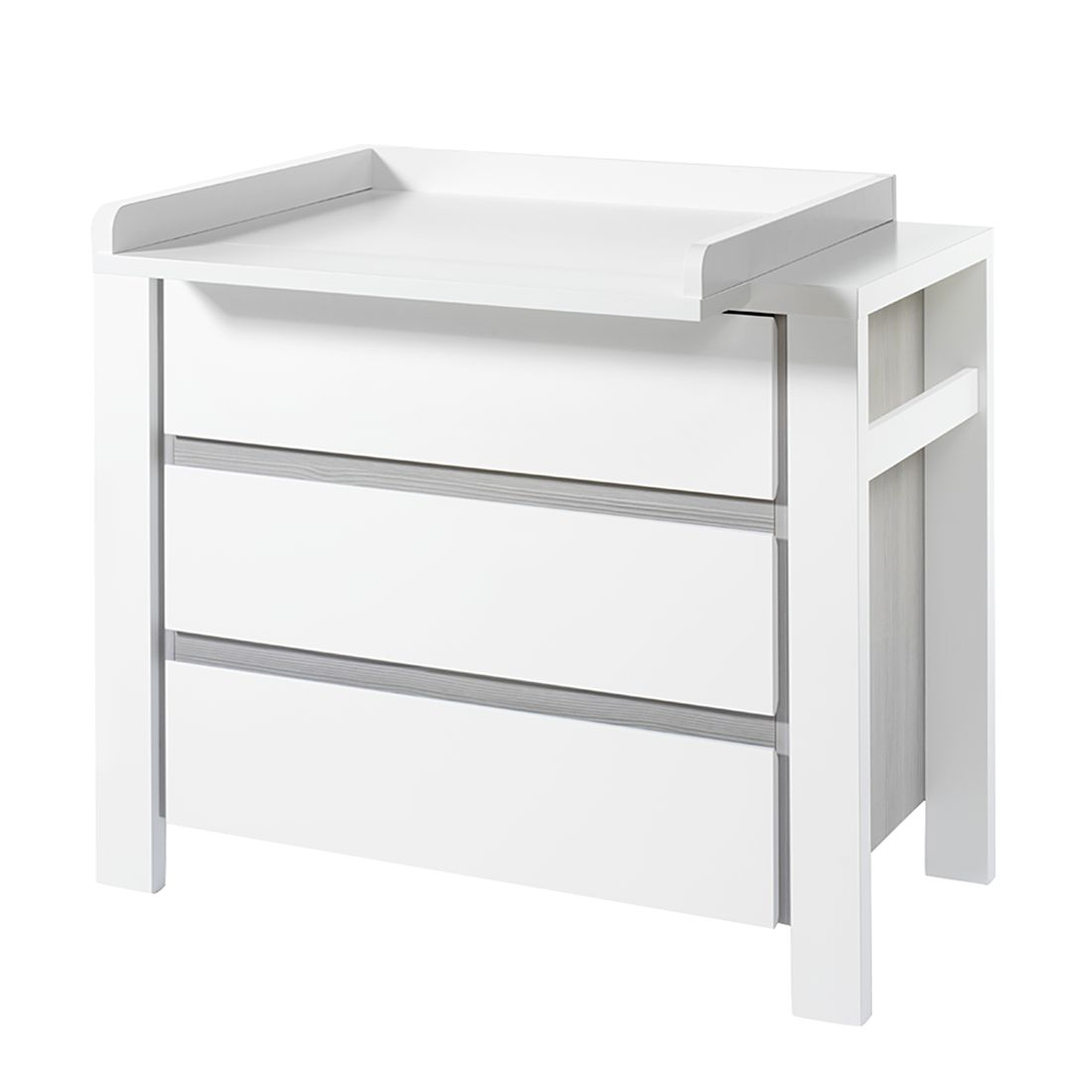 wickelkommode karlotta kiefer massivholz white wash. Black Bedroom Furniture Sets. Home Design Ideas