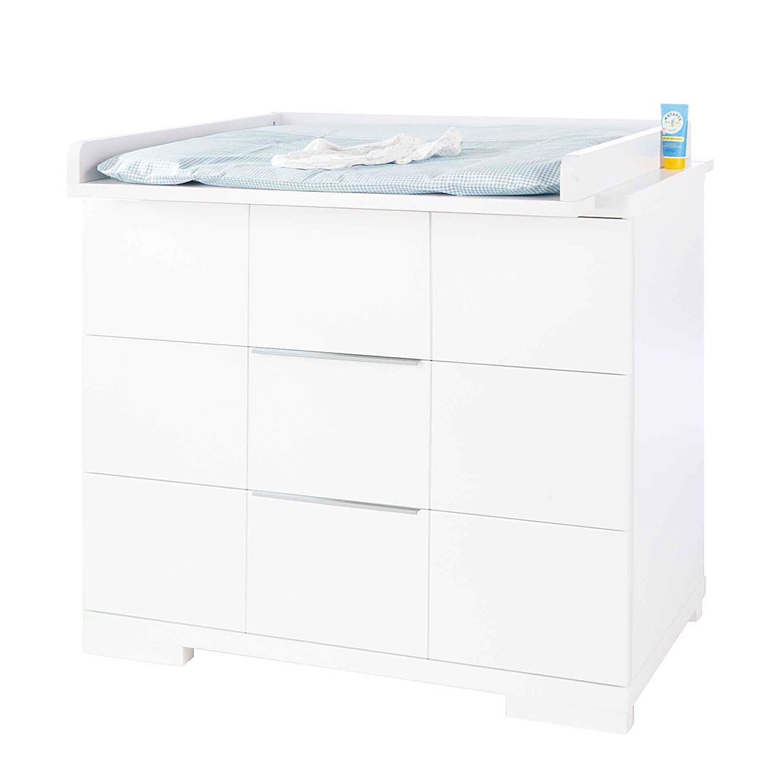 Wickelkommode Polar - Lack Weiß (Wickelkommode ´Polar´ breit)