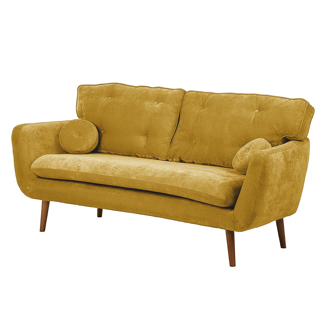 sofa lillbro 3 sitzer microfaser senfgelb m rteens. Black Bedroom Furniture Sets. Home Design Ideas
