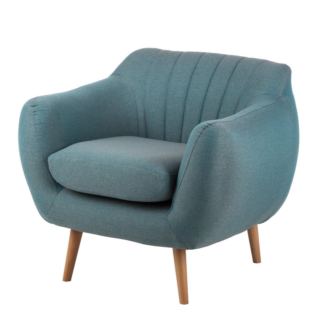 Sessel Molly – Webstoff Blaugrau, Mørteens günstig